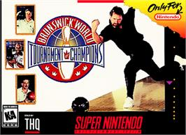 Box cover for Brunswick World Tournament of Champions on the Nintendo SNES.