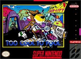Box cover for Chester Cheetah: Too Cool to Fool on the Nintendo SNES.