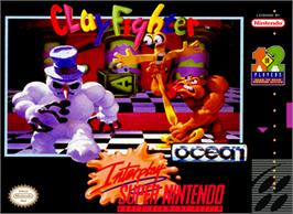 Box cover for Clay Fighter on the Nintendo SNES.