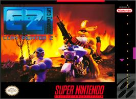 Box cover for Clay Fighter 2: Judgement Clay on the Nintendo SNES.