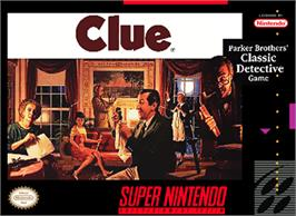 Box cover for Clue on the Nintendo SNES.