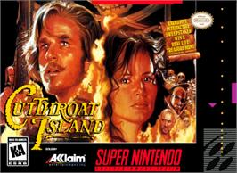Box cover for Cutthroat Island on the Nintendo SNES.