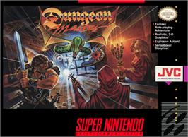 Box cover for Dungeon Master on the Nintendo SNES.