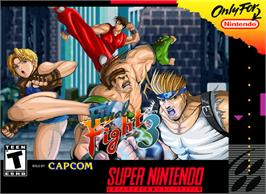 Box cover for Final Fight 3 on the Nintendo SNES.