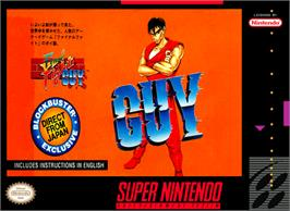 Box cover for Final Fight Guy on the Nintendo SNES.