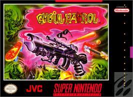 Box cover for Ghoul Patrol on the Nintendo SNES.