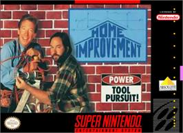 Box cover for Home Improvement: Power Tool Pursuit on the Nintendo SNES.