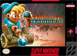 Box cover for Incantation on the Nintendo SNES.