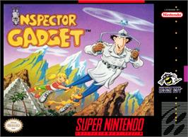 Box cover for Inspector Gadget on the Nintendo SNES.