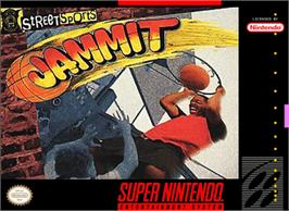 Box cover for Jammit on the Nintendo SNES.