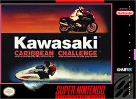 Box cover for Kawasaki Caribbean Challenge on the Nintendo SNES.