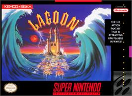 Box cover for Lagoon on the Nintendo SNES.