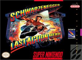 Box cover for Last Action Hero on the Nintendo SNES.