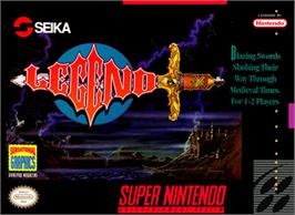 Box cover for Legend on the Nintendo SNES.