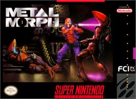 Box cover for Metal Morph on the Nintendo SNES.