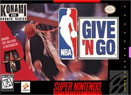Box cover for NBA Give 'n Go on the Nintendo SNES.
