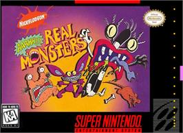 Box cover for Nickelodeon: Aaahh!!! Real Monsters on the Nintendo SNES.