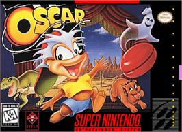 Box cover for Oscar on the Nintendo SNES.