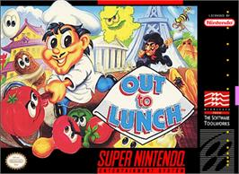 Box cover for Out to Lunch on the Nintendo SNES.