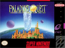 Box cover for Paladin's Quest on the Nintendo SNES.