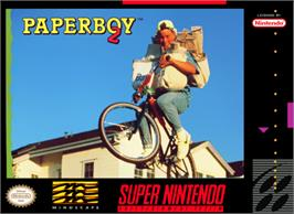 Box cover for Paperboy 2 on the Nintendo SNES.