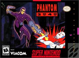 Box cover for Phantom 2040 on the Nintendo SNES.