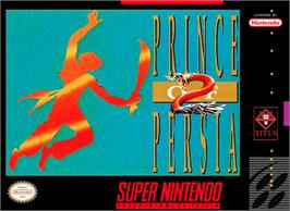Box cover for Prince of Persia 2: The Shadow & The Flame on the Nintendo SNES.