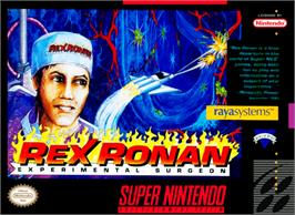 Box cover for Rex Ronan: Experimental Surgeon on the Nintendo SNES.