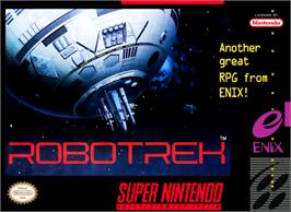 Box cover for Robotrek on the Nintendo SNES.
