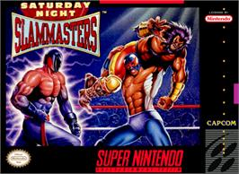 Box cover for Saturday Night Slam Masters on the Nintendo SNES.
