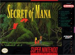 Box cover for Secret of the Stars on the Nintendo SNES.