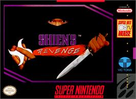 Box cover for Shien's Revenge on the Nintendo SNES.