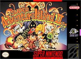 Box cover for Super Adventure Island II on the Nintendo SNES.