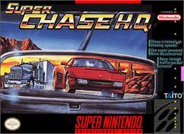 Box cover for Super Chase H.Q. on the Nintendo SNES.