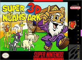Box cover for Super Noah's Ark 3-D on the Nintendo SNES.