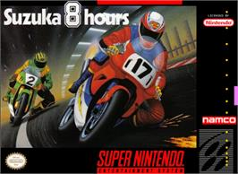 Box cover for Suzuka 8 Hours on the Nintendo SNES.