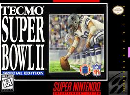 Box cover for Tecmo Super Bowl II: Special Edition on the Nintendo SNES.