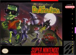 Box cover for The Adventures of Dr. Franken on the Nintendo SNES.