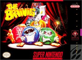 Box cover for The Brainies on the Nintendo SNES.