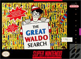Box cover for The Great Waldo Search on the Nintendo SNES.