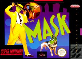 Box cover for The Mask on the Nintendo SNES.