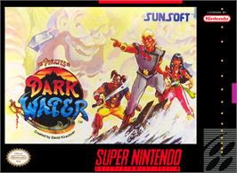 Box cover for The Pirates of Dark Water on the Nintendo SNES.