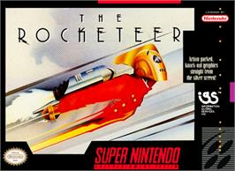 Box cover for The Rocketeer on the Nintendo SNES.