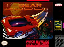 Box cover for Top Gear 3000 on the Nintendo SNES.