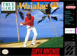 Box cover for True Golf Classics: Waialae Country Club on the Nintendo SNES.