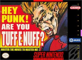 Box cover for Tuff E Nuff on the Nintendo SNES.