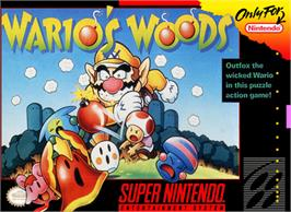 Box cover for Wario's Woods on the Nintendo SNES.