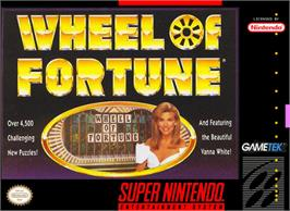 Box cover for Wheel of Fortune on the Nintendo SNES.