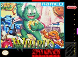 Box cover for Whirlo on the Nintendo SNES.