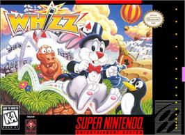 Box cover for Whizz on the Nintendo SNES.